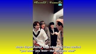 [ENGSUB] 180414 WINNER talking about Super Junior on V-LIVE