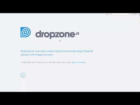 Subir archivos con arrastrar y soltar con vista previa - Php / Dropzone.js / JQuery
