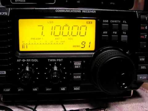 Azad Kashmir Radio 7100 kHz. 19.1.2011.