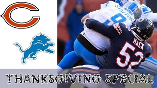 Bears vs Lions Highlights Week 13 - NFL 2019 | Thanksgiving Special (24-20)