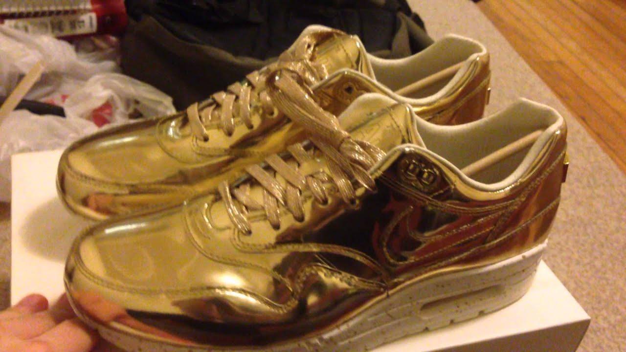 Liquid Silver Air Max 1 Nike Air Max 1 sp Liquid Gold