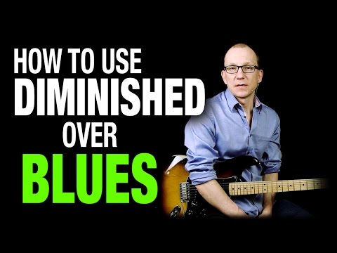 How To Use Diminished Scale In Blues - Q & A With Robert Renman