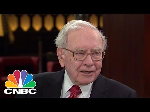 Warren Buffett On Trade Surplus, Marissa Meyer's Severance Package | CNBC