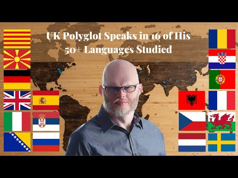 Hyperpolyglot - Polyglot and Multilingual Ambassador speaks in 16 languages