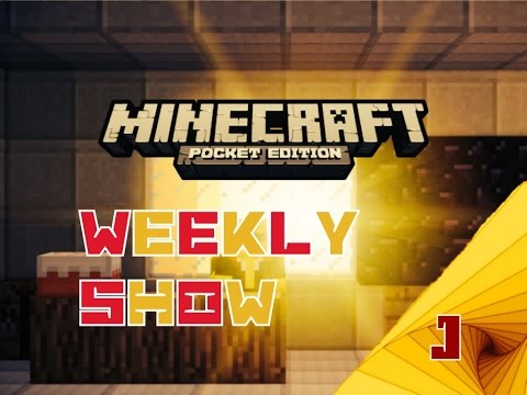 Release Info and Redstone 0.10.0 Minecraft Pocket Edition Weekly Show #9