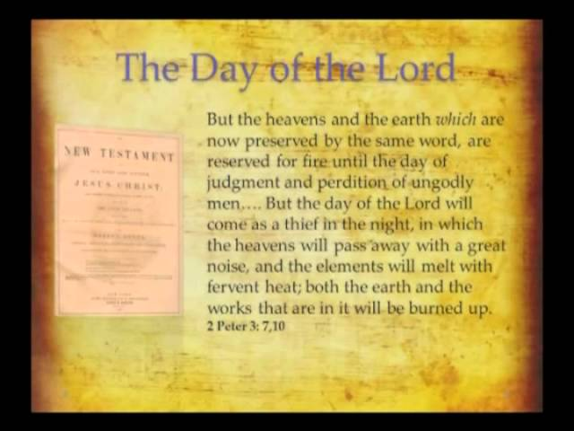Day of the Lord - The Wrath of God