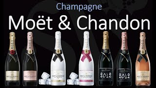 7 Types of Moët & Chandon Champagne