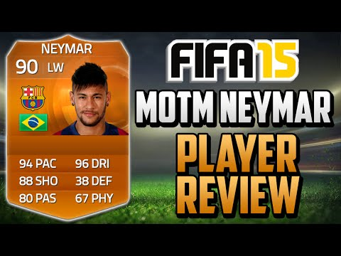FIFA 15 MOTM Neymar Review (90) w/ In Game Stats & Gameplay - Fifa 15 Player Review