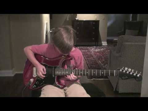 9 Year Old Plays Canon Rock-(hd) video