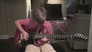9 Year Old Plays Canon Rock-(HD)