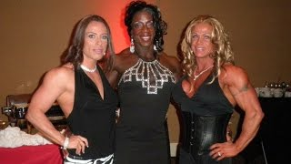 Collection Female Bodybuilding 2017!Collection Muscle women 2017! Extreme BodyBuilders! FBB! Girl Mu