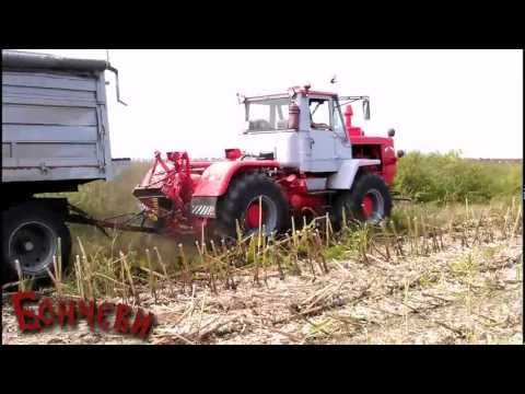 Tractor T-150 with trailer