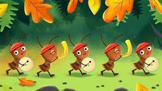 The Ants Go Marching | Kids Nursery Rhymes & Children's Songs