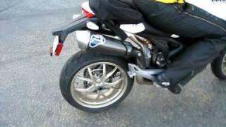 Ducati Monster 1100S Termignoni Rev + Drive off