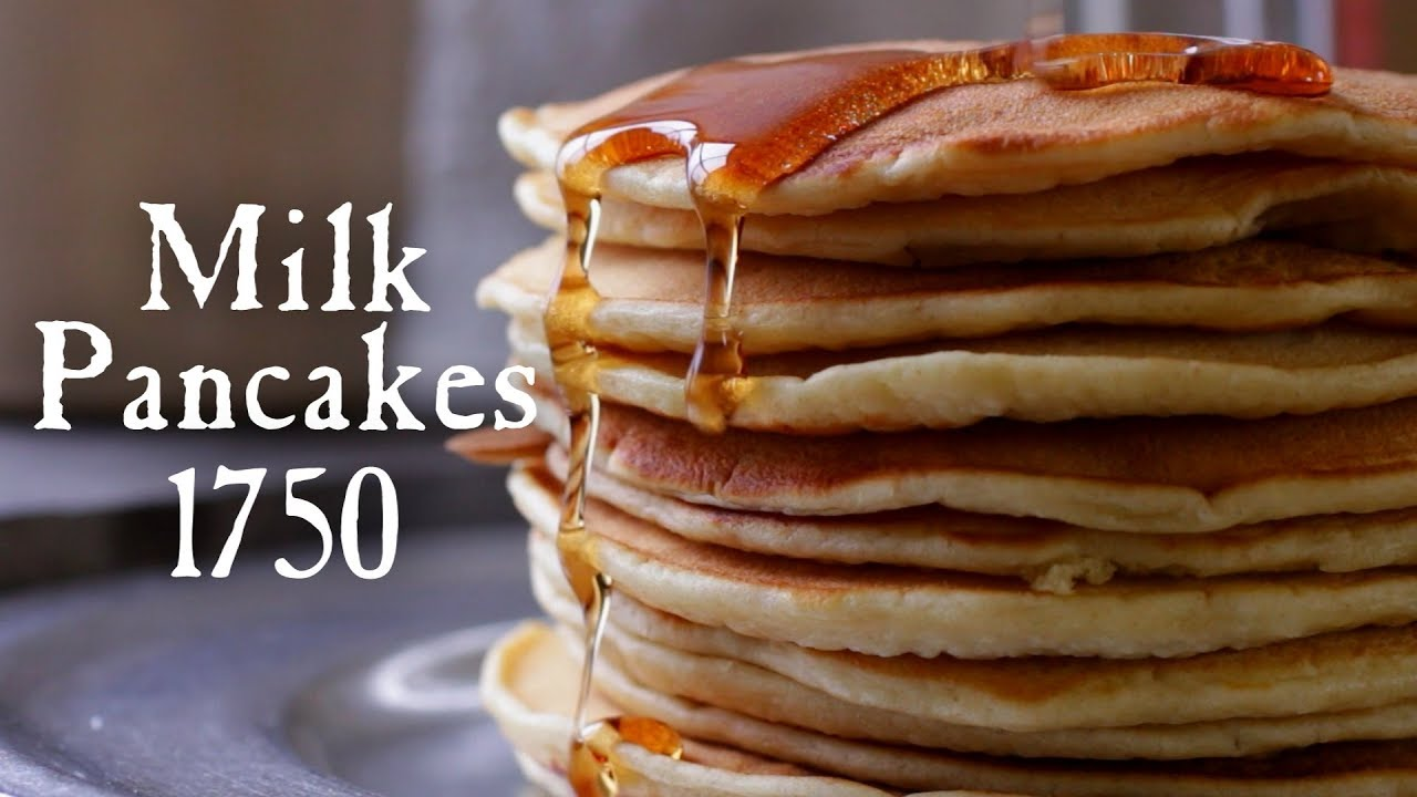 18th century milk pancakes 18th century cooking series for 18th century cuisine