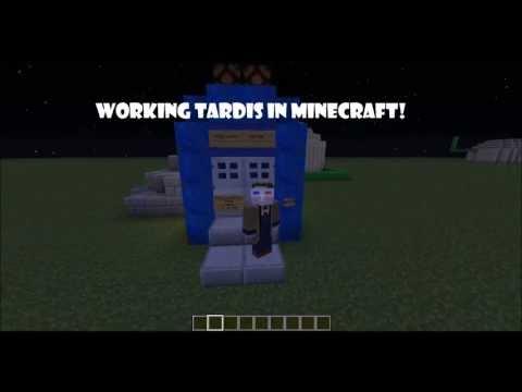Minecraft WORKING TARDIS NO MODS V1