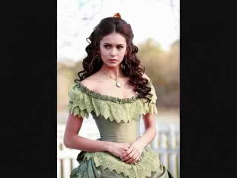 The Vampire Diaries: Katherine Pierce (makeup & fashion)