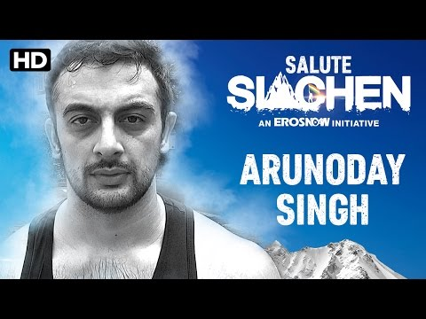 Salute Siachen | Arunoday Singh - Introduction