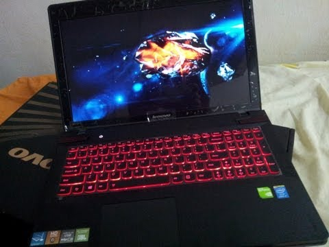 Lenovo Y510p Unboxing Haswell Gaming notebook