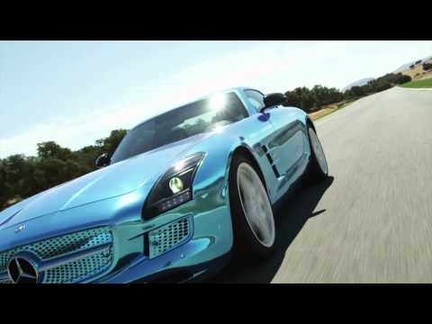 SLS AMG Coupé Electric Drive on the Ascari Race Track