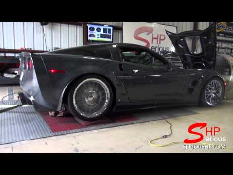 Corvette ZR1 Upper Lower Pulley Camshaft SHP tuning / Houston