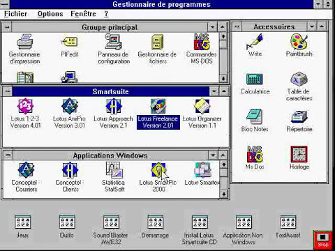 INITIATION A WINDOWS 3.11 -