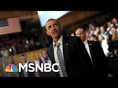 Obama: No Political Influence In Clinton E-Mail Investigation | Andrea Mitchell | MSNBC