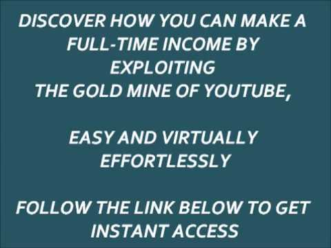 How Can I Make Money From Youtube-Make $97 Daily With Youtube Without Creating Any Videos