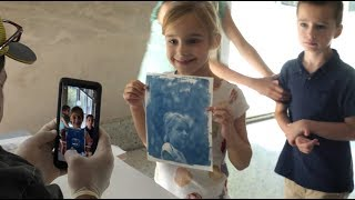 Cyanotype Workshop at Seattle Art Museum