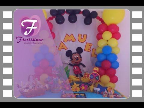 Decoracion Infantil Mickey Mouse 3