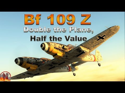 WT || Bf 109 Z - Why It Is Not Wörth It thumbnail