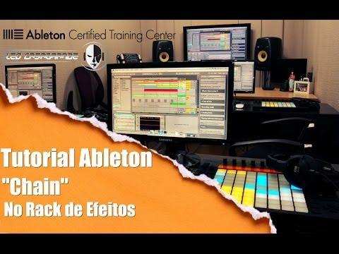 Ableton Live - chain No Rack De Efeitos (tutorial Pt-br) video
