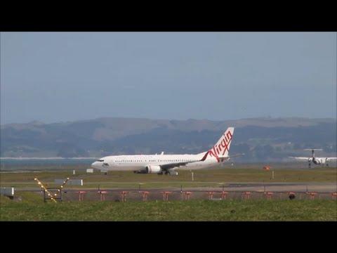 Virgin Samoa - B737-3 - Take Off - Auckland Intl. Airport
