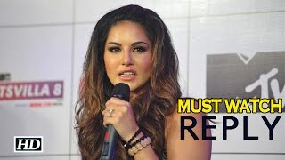 Sunny Leone's Perfect Reply To Her Critics in India | Must Watch