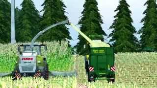 Silage in the countryside, Multiplayer 1080p