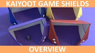 Kaiyoot Game Shields | Overview | slickerdrips