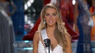 Olivia Jordan (Miss USA) - Miss Universe 2015 [Highlights]
