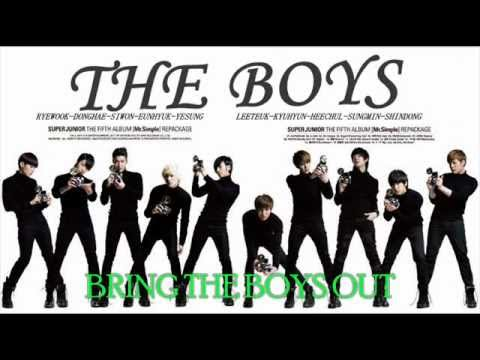 Super Junior - The Boys (snsd) [eng Sub] video