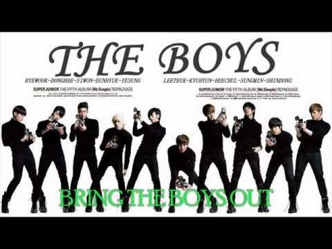 Super Junior - The Boys (snsd) [eng Sub] video