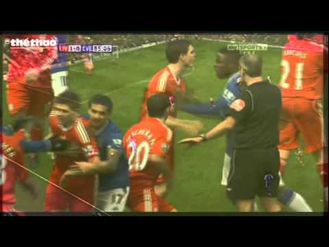 Steven Gerrard fight