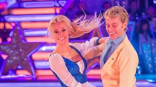 Pixie Lott & Trent Whiddon Quickstep to 'Be Our Guest' - Strictly Come Dancing: 2014 - BBC One