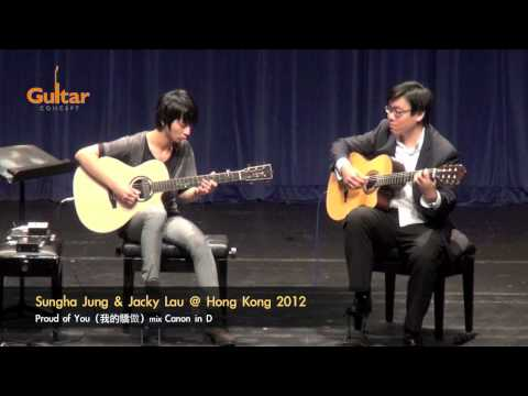 Proud Of You 我的驕傲(song Of Joey Yung) - Sungha Jung & Jacky Lau video