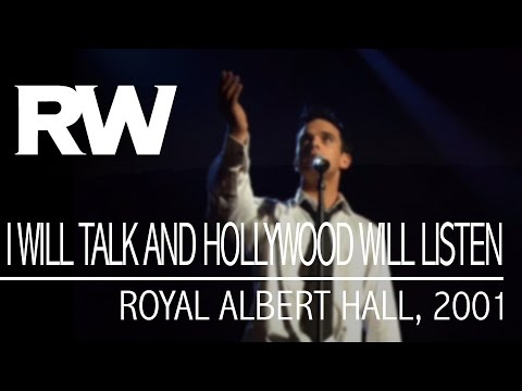 Robbie Williams - I Will Talk Hollywood Will Listen