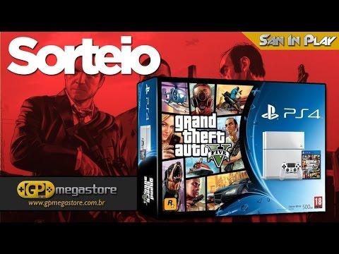 SORTEIO DE PS4 VEM COM GTA5 E   2 JOGOS LEIA DESCRIÇÃO