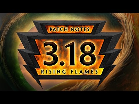SMITE Patch Notes VOD - Rising Flames (Patch 3.18)