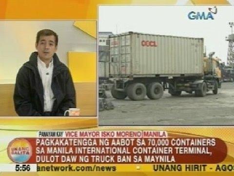 UB: Panayam kay Manila Vice Mayor Isko Moreno kaugnay ng truck ban sa Maynila