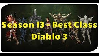 Diablo 3: Best Class for Season 13