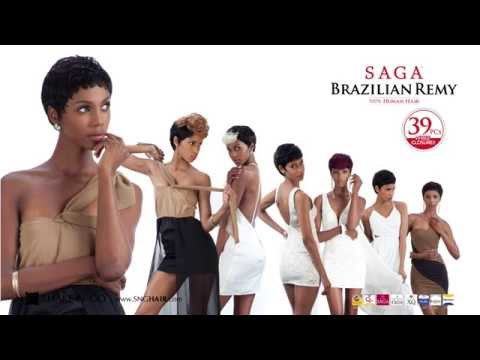 Brazilian Remy Saga Saga Brazilian Remy 39 Pcs