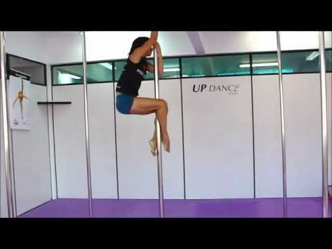 Prova Nivel Básico Improviso Pole Dance - Up Dance Studio -  Miriam Gonçalves.avi video