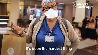 One Million Meals Delivered to NYC Health Care Workers on the Frontlines | Bloomberg Philanthropies